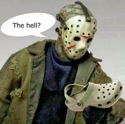 How to stump Jason from Friday the 13th, Halloween, Serial Killer, Halloween Humor