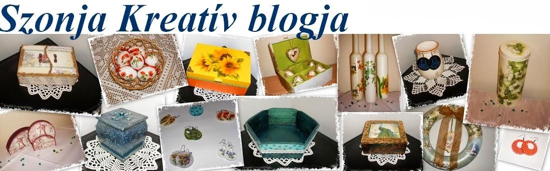 Szonja Kreatív blogja
