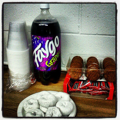Faygo and sweets