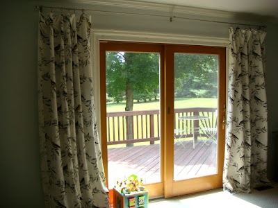 Sliding panel curtains