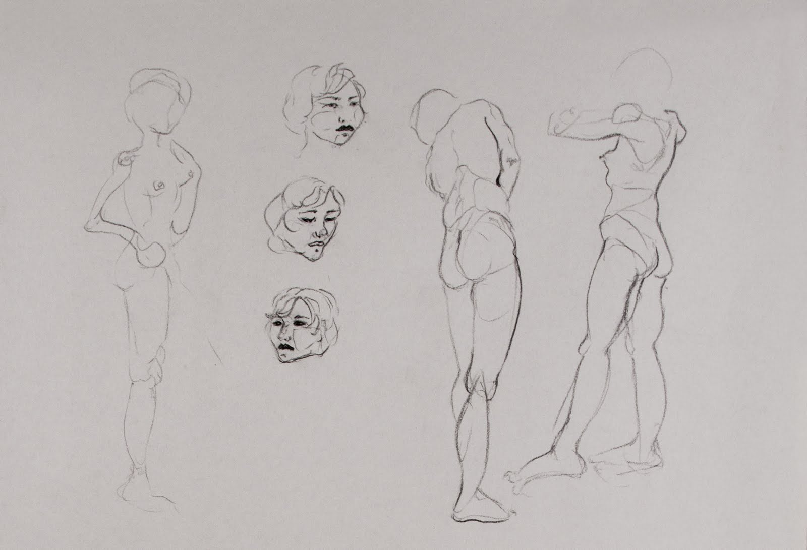 Kristina Rose Runyan: Figure Drawing 2010