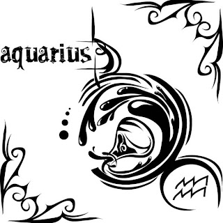 Zodiak Tattoos Gallery - Aquarius Tattoo