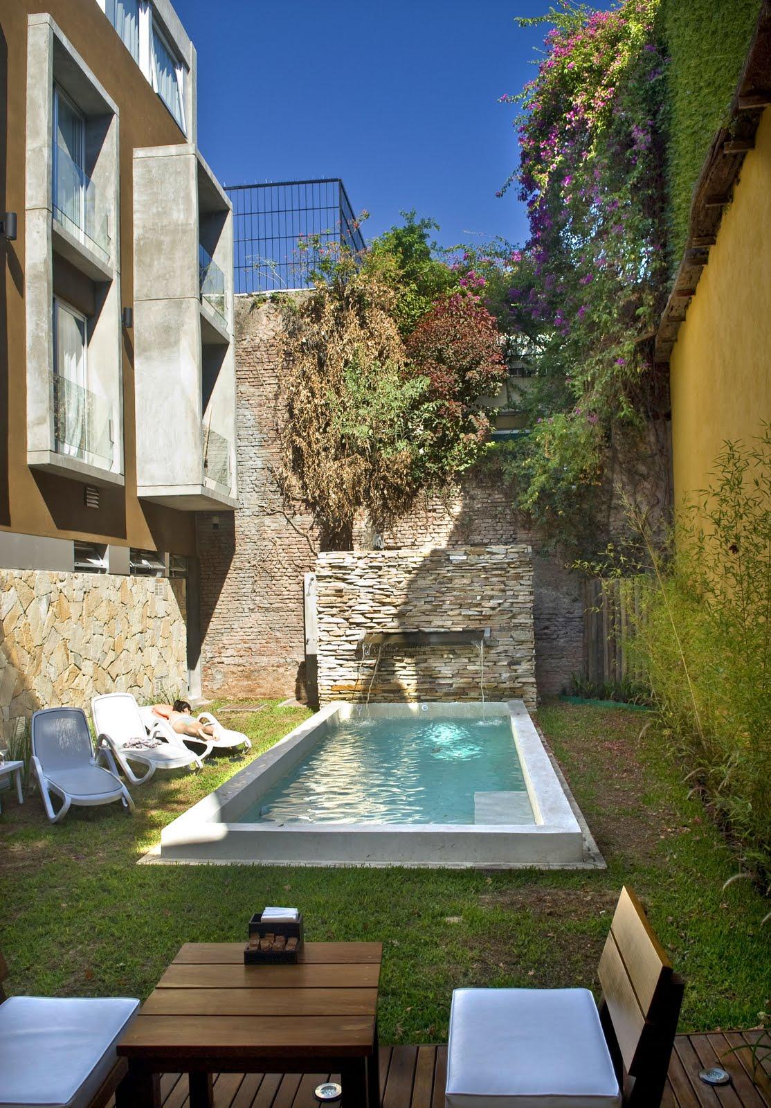 Jardin Pequeo Con Piscina Cheap Jardn Piscina With Jardin Pequeo Piscinas  Para Jardines Pequeos.