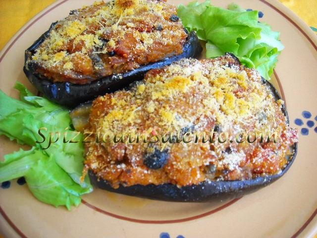melanzane rustiche con ripieno vegetariano -