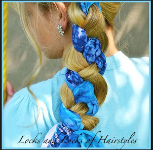 4 Strand Braid with Scarf