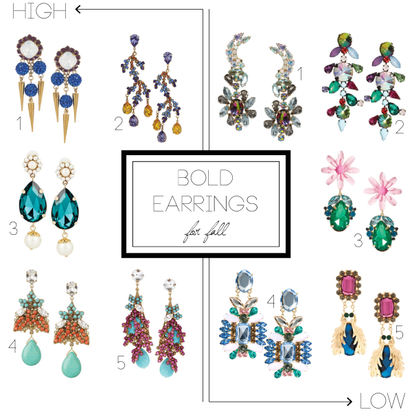 Bold Earrings