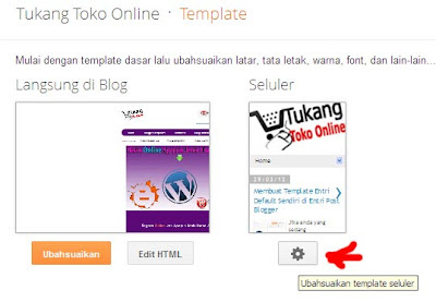 setting template mobile version 2