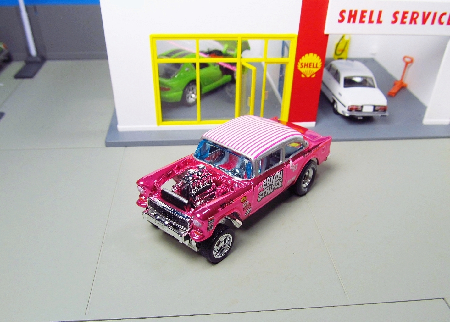 Hot Wheels RLC Candy Striper Chevy Gasser