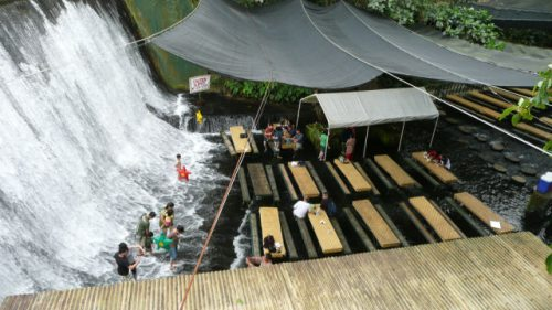Waterfall Restaurant at Philippines