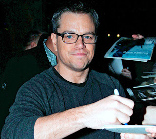 Matt Damon finds being a father exhausting