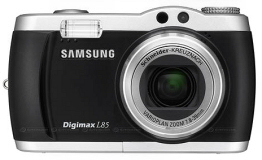 Mijn trouwe camera, al sinds 2007: de Samsung Digimax L85