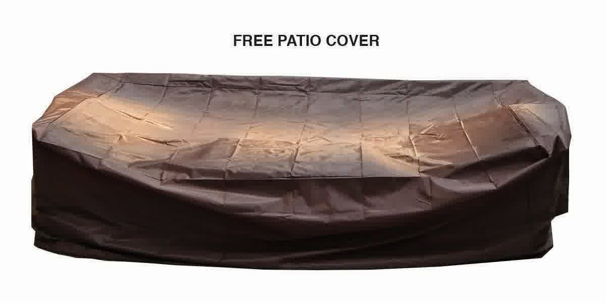 Sale discount off 54% for Ohana Collection PN0910MB 9 Piece Outdoor Patio Sof