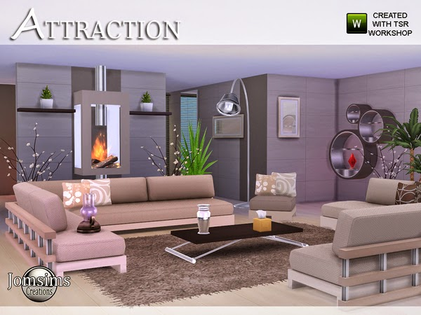 My sims 4 blog jomsims attraction living room for Living room sims 4