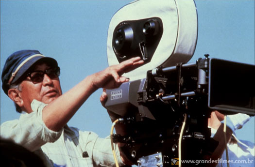 O diretor Akira Kurosawa