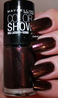 Maybelline Color Show Wine and Dined