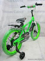 2 Sepeda Anak United Motocross Rangka Aloi 18 Inci