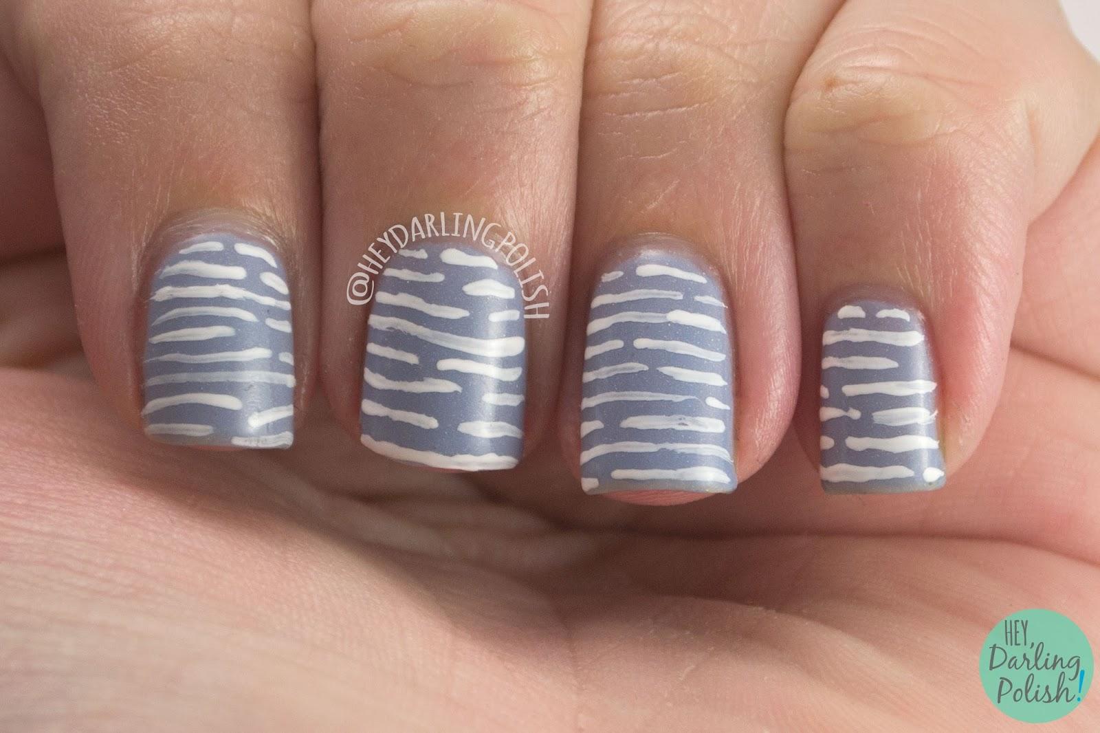 Hey, Darling Polish!: Black Dahlia Lacquer Nail Art