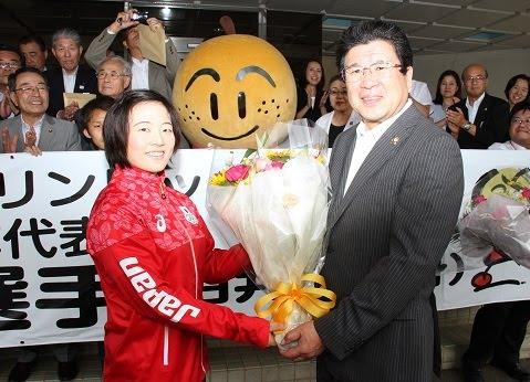 安藤選手リオ五輪5位入賞おめでとうございます。