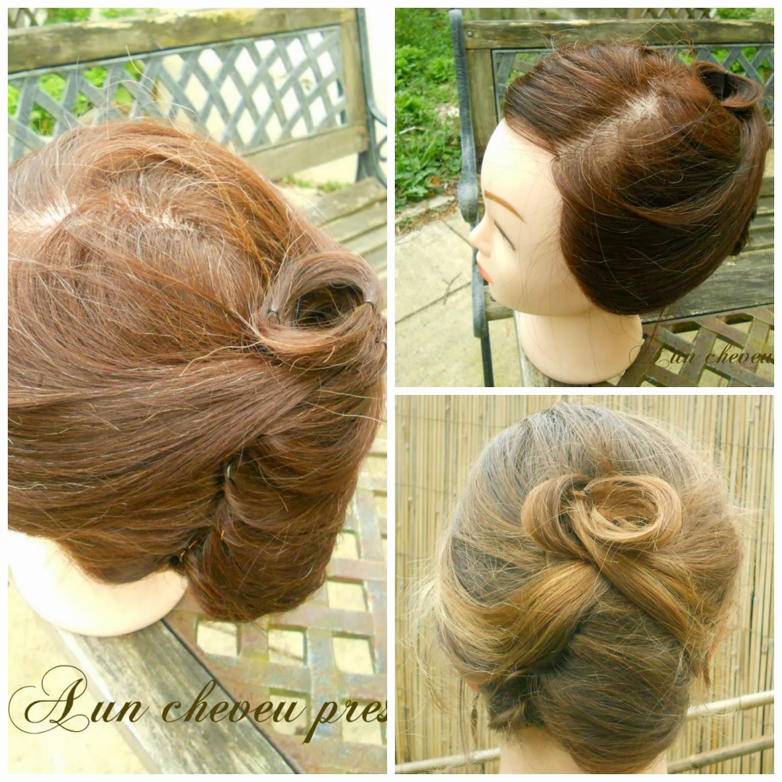 Cette coiffure est réalisable sur cheveu lisses ou frisés mais sera plus  simple à faire si vous avez les cheveux courts (c\u0027est rare cheveux courts,
