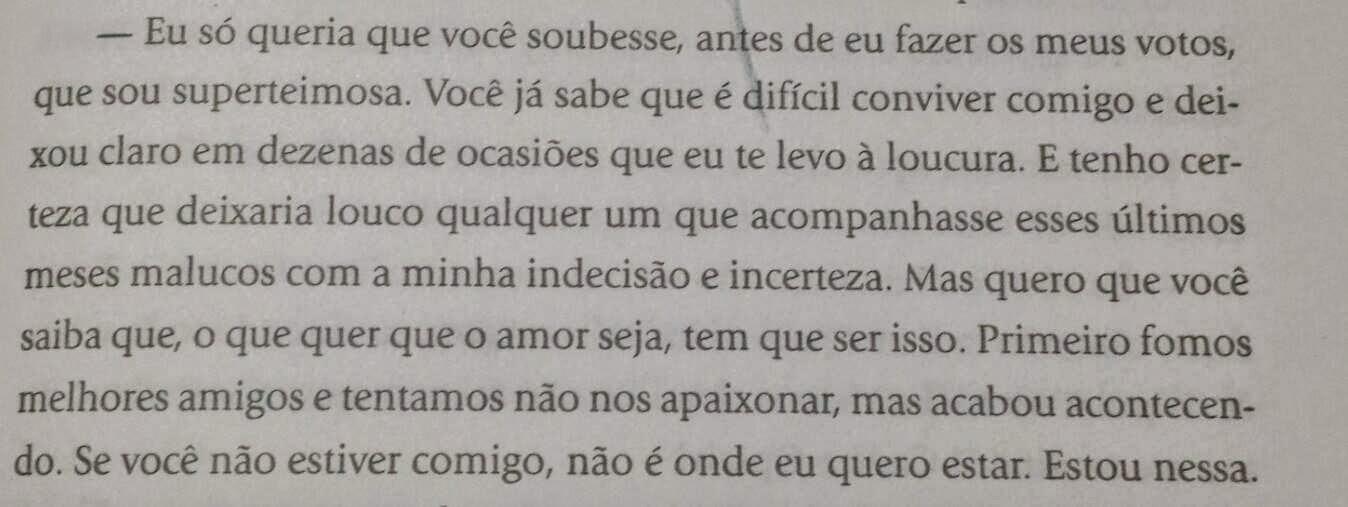 Trecho do Livro Belo Casamento. Pág. 67