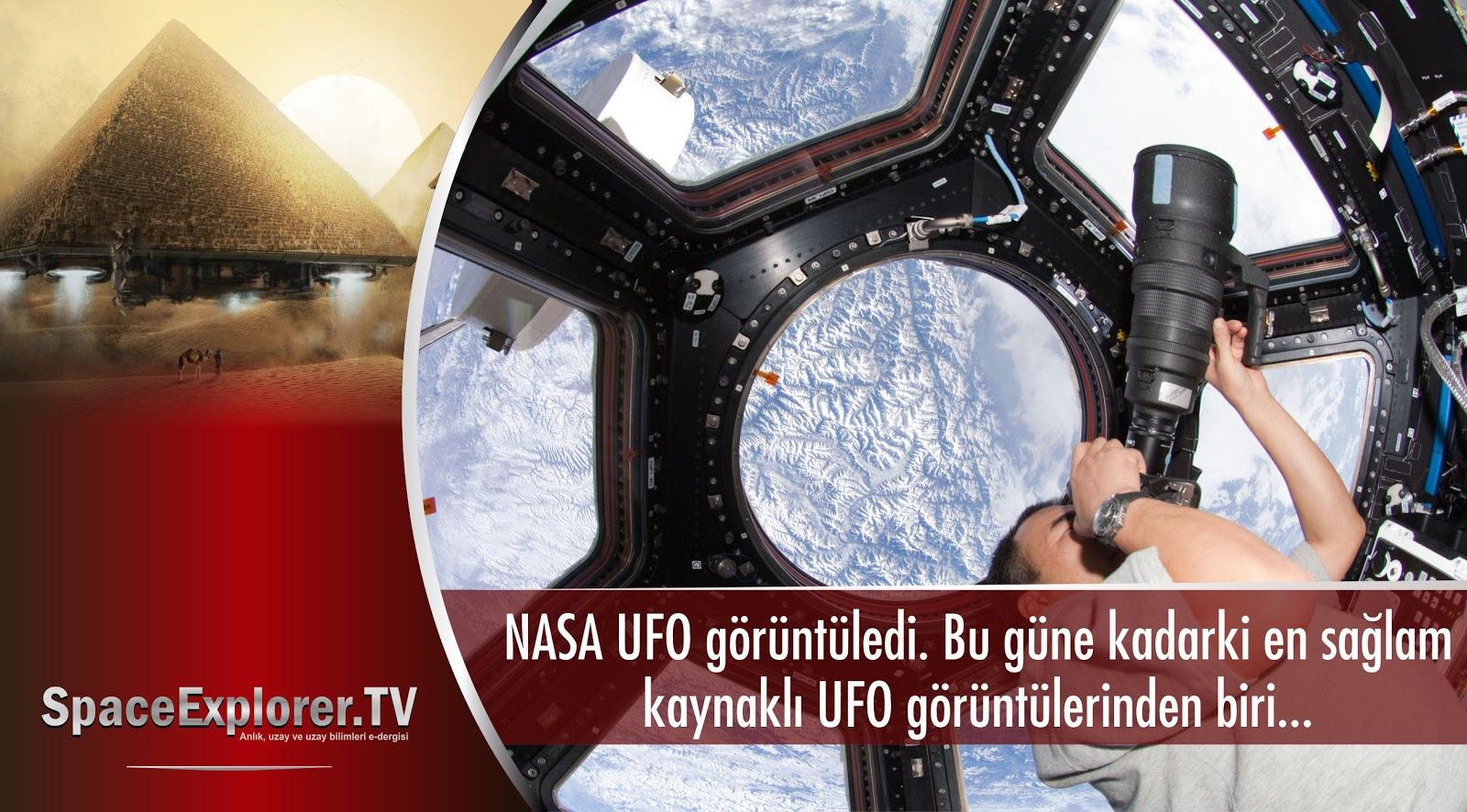 NASA UFO görüntüledi. Bu güne kadarki en sağlam kaynaklı UFO ...