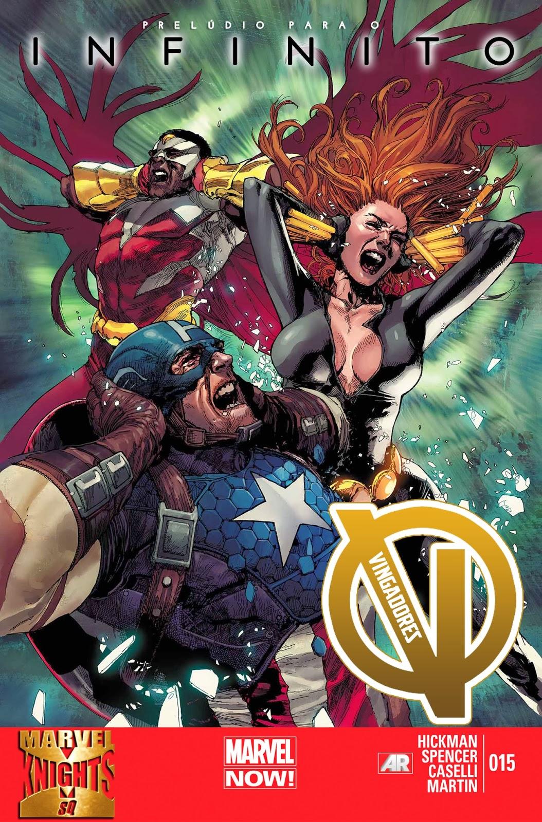 Nova Marvel! Vingadores v5 #15
