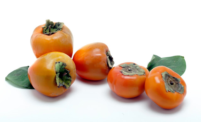 Fuyu Persimmons and Hachiya Persimmons