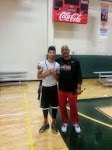 Legend John Lucas & I