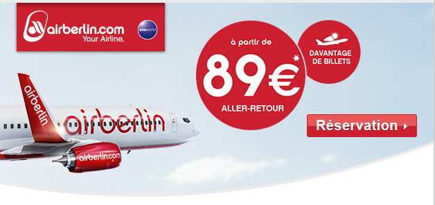 Air Berlin Paris