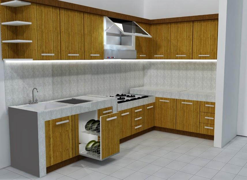 Desain Kitchen Set Minimalis Yang Menghemat Anggaran