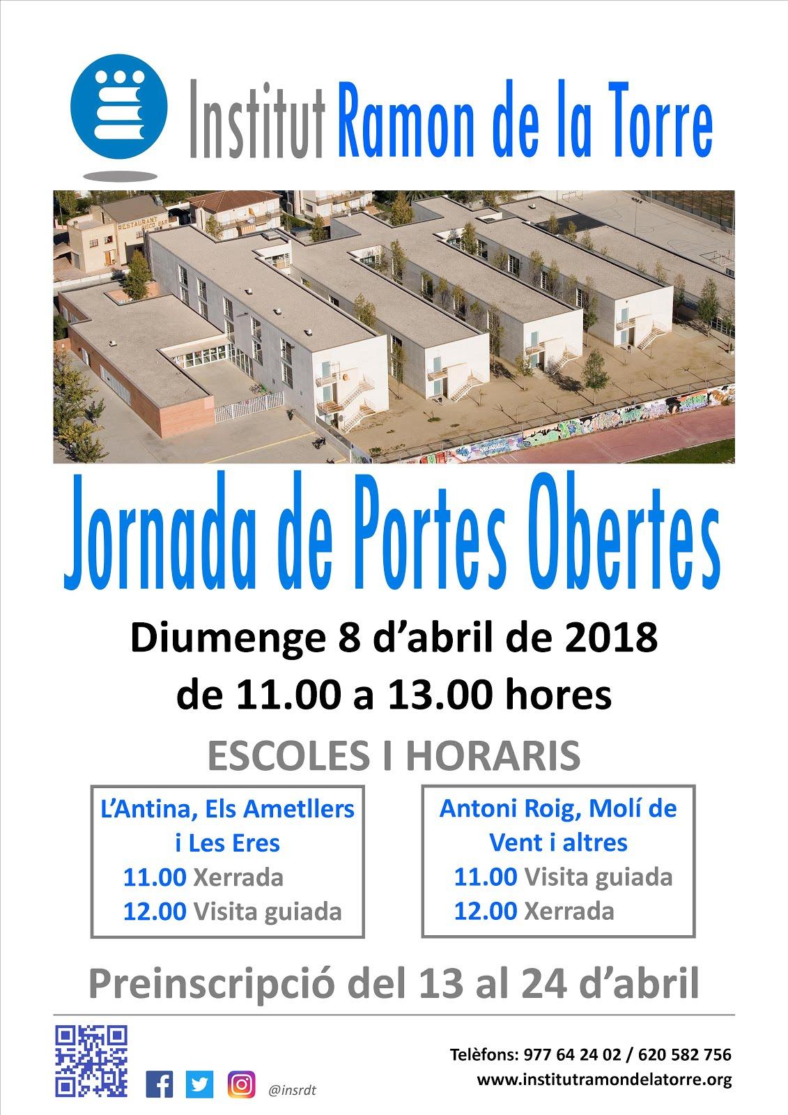 JORNADA DE PORTES OBERTES
