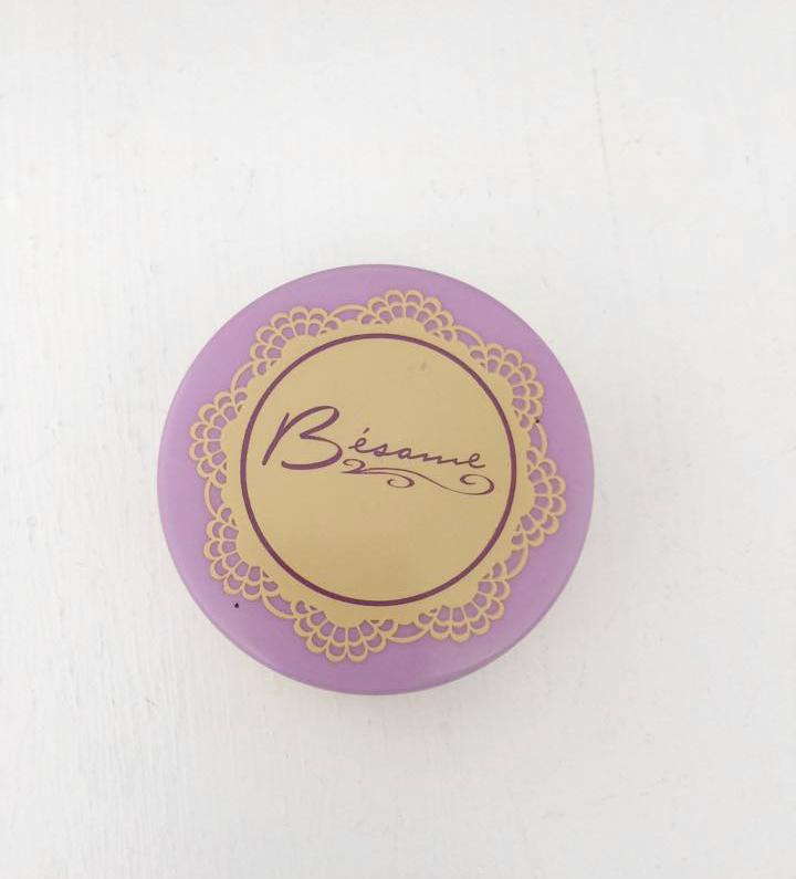 besame brightening violet powder review