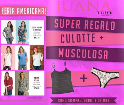 Catalogo Juana te Cuenta Junio 2015