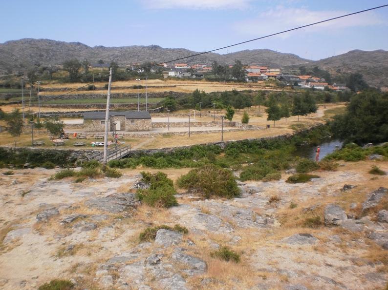 Vista Praia Fluvial da Mizarela