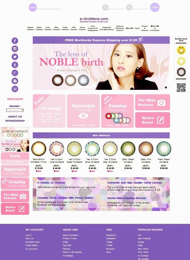 e-circlelens.com