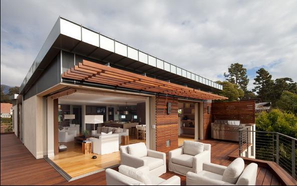 Fotos de techos agosto 2013 for Techos de terrazas modernas