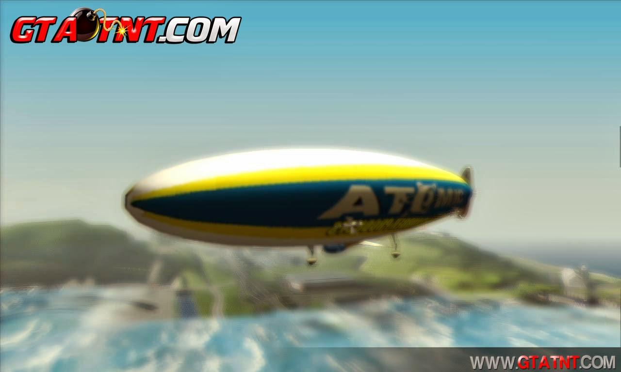 Dirig�vel Atomic convertido do GTA V para GTA San Andreas