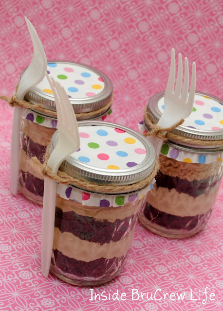 Oreo Coffee Cakes in a Jar