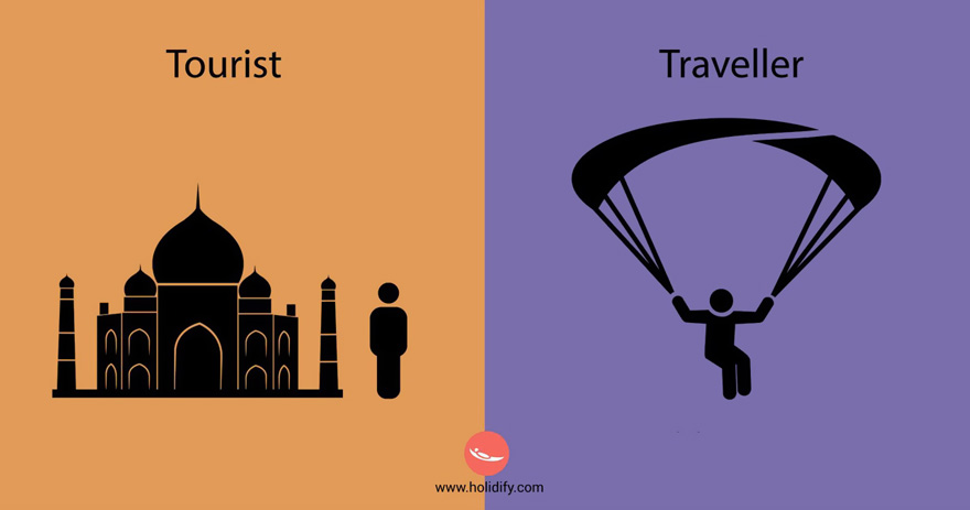 #12 Tourist Vs Traveller - 10+ Differences Between Tourists And Travellers
