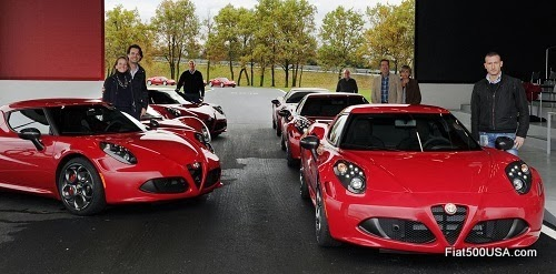 Alfa Romeo 4C Launch Edition Deliveries