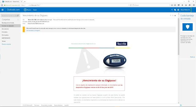 Como identificar un correo falso blogti