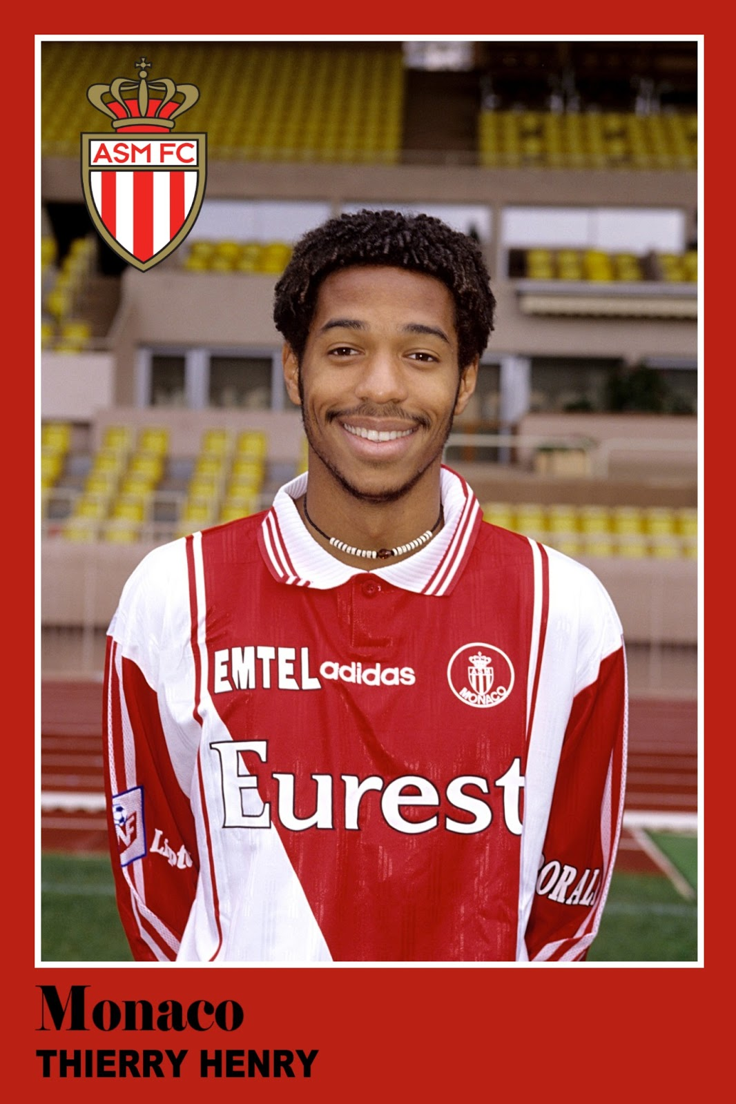 Old School Panini Thierry HENRY s first sticker in HD