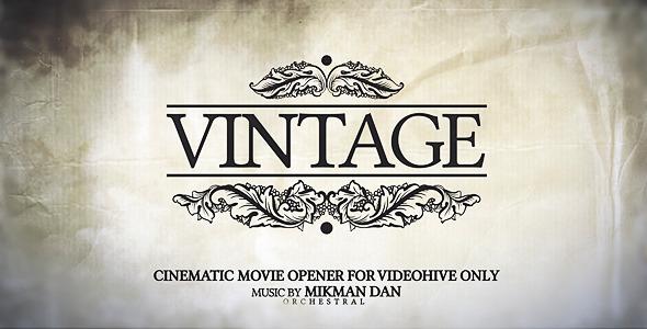 VideoHive Vintage Opener