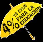 EL 4% PARA LA EDUCACION DEL PAIS