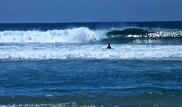 Punta abreojos  surfing