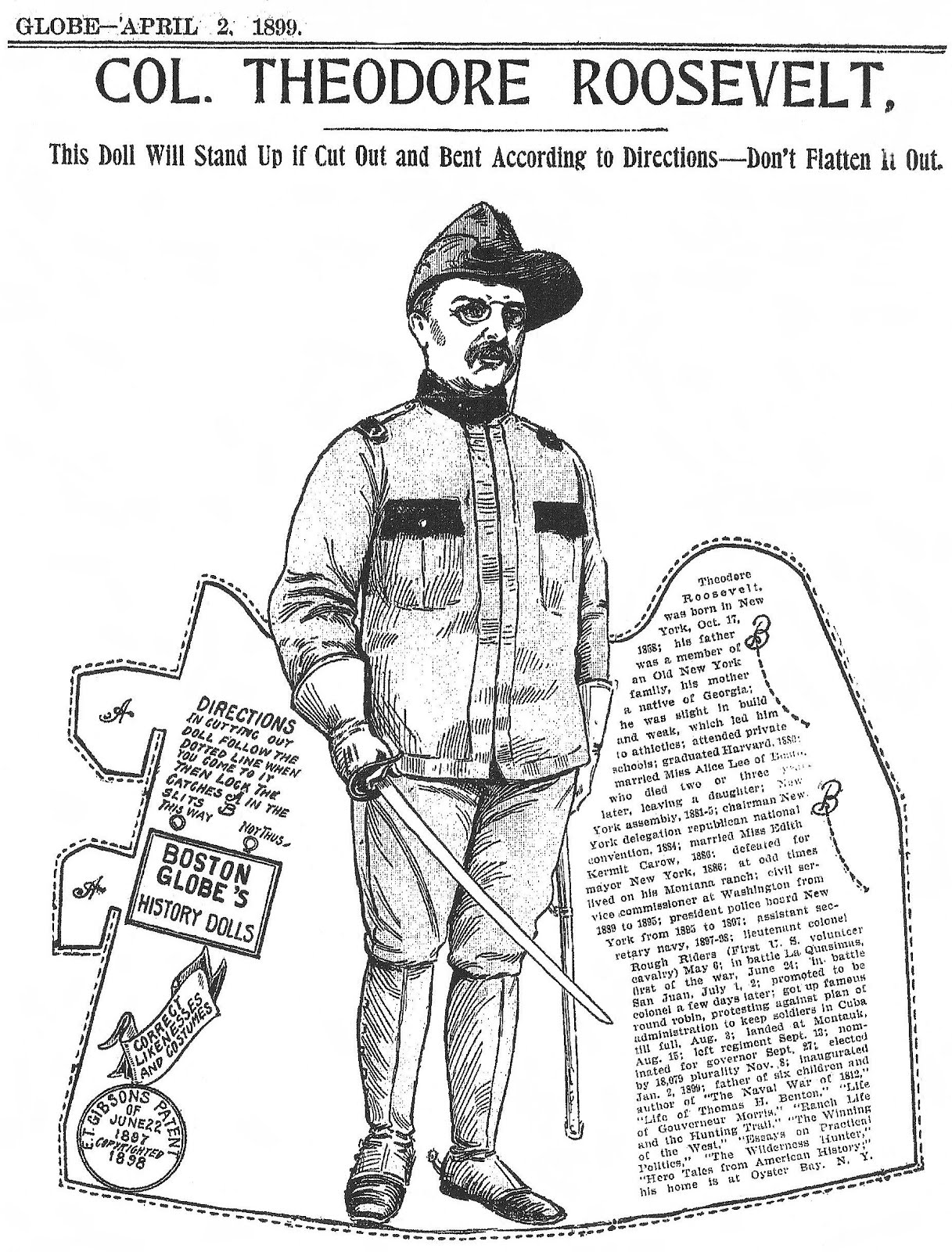 teddy roosevelt essay The may, 1900, issue opens with an essay by theodore roosevelt entitled,  what we can expect of the american boy at the time this essay.