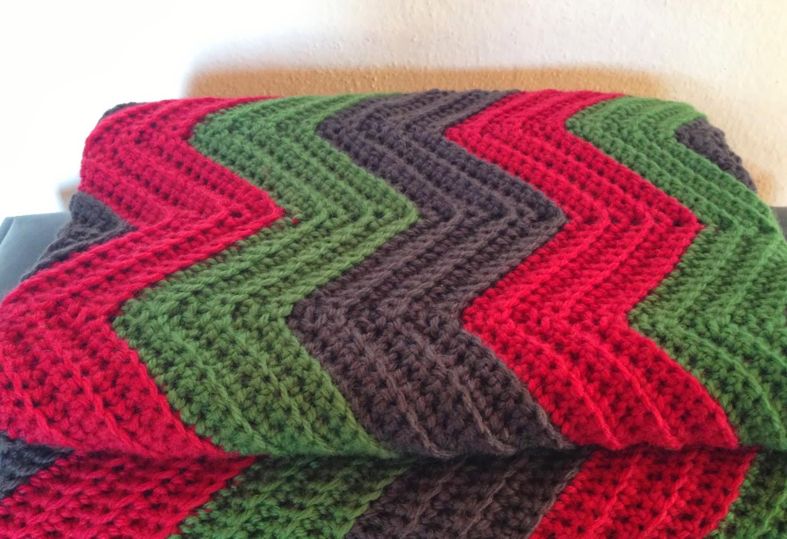 Chevron Knitting Pattern Afghan : Crochet Chevron/Ripple Baby Blanket What Do I Do?