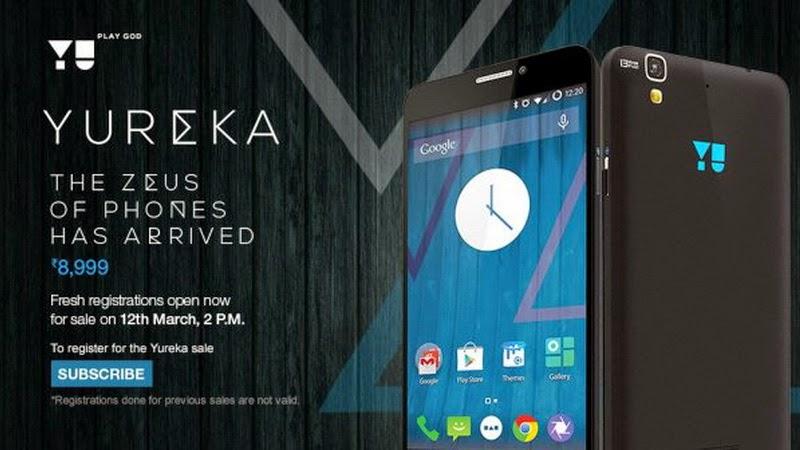 Micromax YU Yureka, Smartphone Pesaing Xiaomi Mi 4i