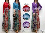 Gamis Spandex Songket SOLD OUT