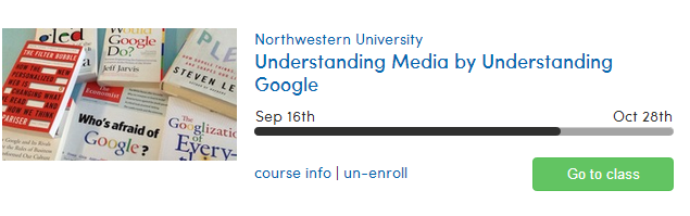 Coursera - Understanding Media By Understanding Google
